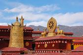 крыша храма джокханг — Стоковое фото