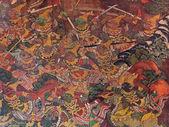 タイの壁画 — ストック写真