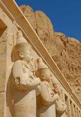 Statue di hatshepsut — Foto Stock