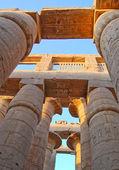 Egyptian columns — Stock Photo