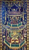 Thai čínský styl umění — Stock fotografie