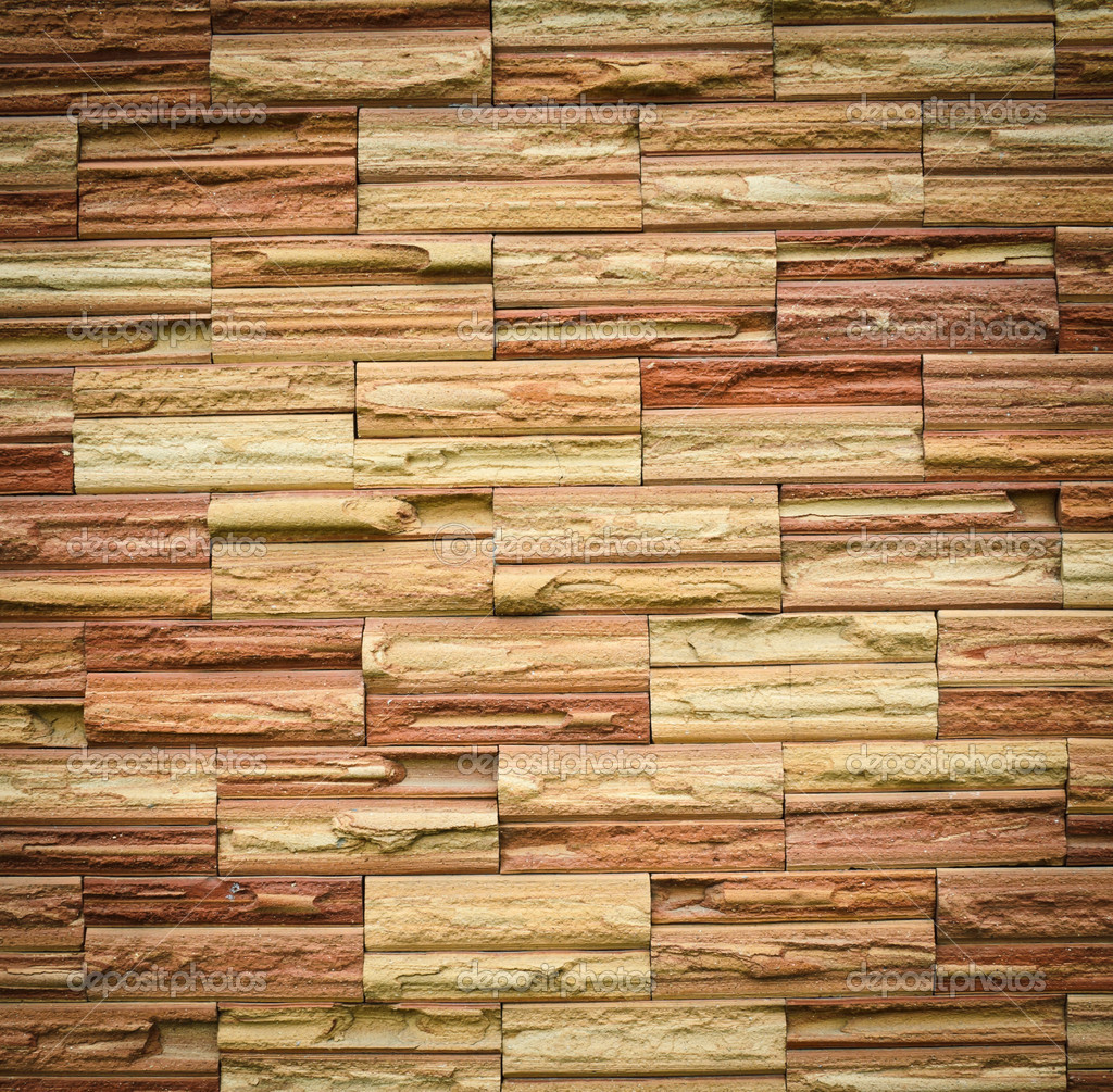 Stone brick wall pattern Stock Photo boonsom 11913454