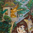 Thai mural painting — Stock fotografie