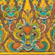 Ancient Thai painting — Stock Photo