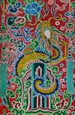 Chinese dragon painting — Stock Photo