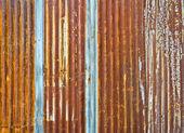Corrugated metal wall — Stock Photo