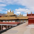 Tibetan roof decoration — Stock Photo