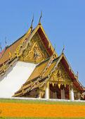 Temple roof decoration — Foto de Stock