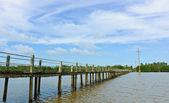 Uzun köprü — Stok fotoğraf