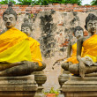 Meditating buddha — Stockfoto