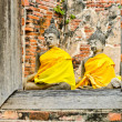 Foto Stock: Meditating buddha