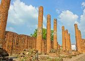 Ruins columns — Stock Photo