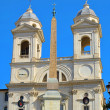 Stock Photo: Rome church Trinitdei Monti 01