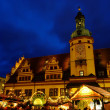 Leipzig Weihnachtsmarkt - Leipzig christmas market 01 — Stock Photo