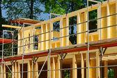 Holzbau - wood construction 04 — Stock Photo