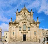 Matera church San Francesco d Assisi 02 — Stock Photo