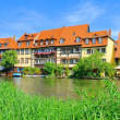 Stock Photo: Bamberg Little Venice 10