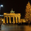 Berlin Brandenburg Gate christmas 01 — Foto Stock