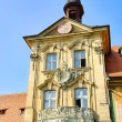 Stock Photo: Bamberg townhall detail 07