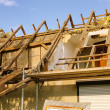 Roof truss demolish 12 — Stock Photo #11412975
