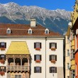 Innsbruck Golden Roof 03 — Stock Photo