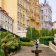 Karlovy Vary facade 04 — Stock Photo #11414778
