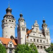 Stock Photo: Leipzig New Townhall 02