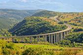 Gran Sasso freeway 02 — Stockfoto