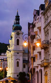 Karlovy Vary Maria-Magdalena church 01 — Stock Photo