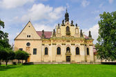 Mnichovo Hradiste convent 01 — Stock Photo