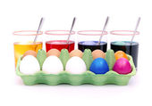Easter eggs colour 12 — Stock Photo