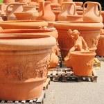 Flower pot from terracotta 05 — Stock Photo #11501805