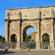 Stock Photo: Rome Arch of Constantine 02