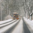 Stock Photo: Winter road clearance 01