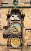 Prague tower clock 02 — Stock Photo