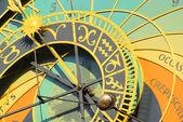 Prague tower clock 04 — Zdjęcie stockowe