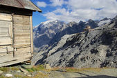 Stelvio Pass Tibet-Hut 03 — Stock Photo