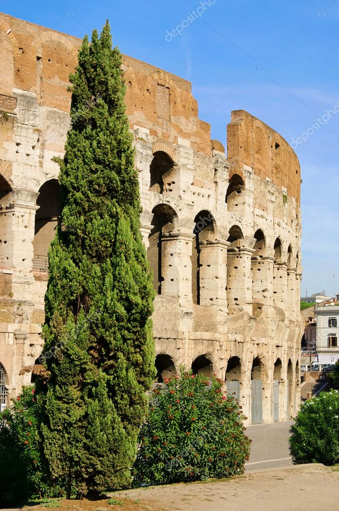 Rom Colosseum 01 — Stock Photo #11509169