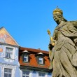 Stock Photo: Bamberg empress Kunigunde statue 01