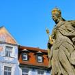 Bamberg empress Kunigunde statue 01 — Stock Photo