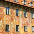 Bamberg townhall detail 01 — Stock Photo