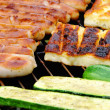 Foto de Stock  : Grilling cheese 05