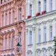 Karlovy Vary facade 01 - Stock Photo