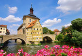 Bamberg townhall 03 — Stock Photo
