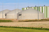 Biogas plant 80 — Stock Photo
