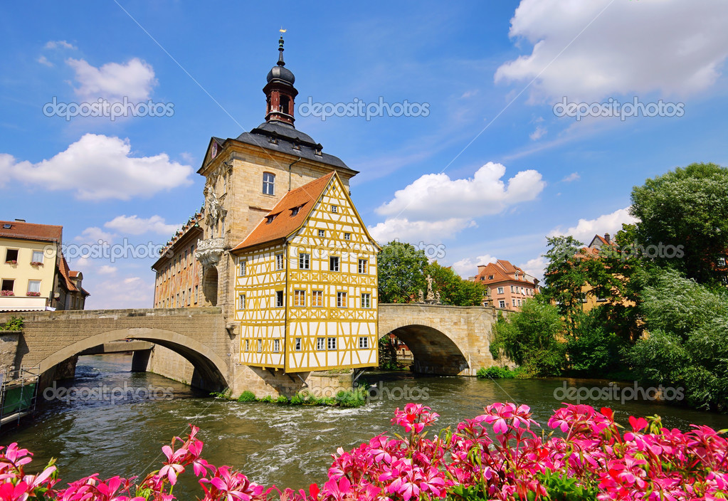 Bamberg townhall 03 — Stock Photo #11513549