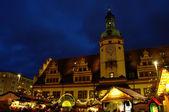 Leipzig christmas market 01 — Stock Photo