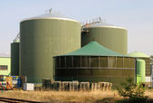 Biogas plant 62 — Stock Photo
