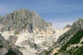 卡拉拉大理石石坑 02 — 图库照片