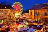 Magdeburg christmas market 03 — Stock Photo